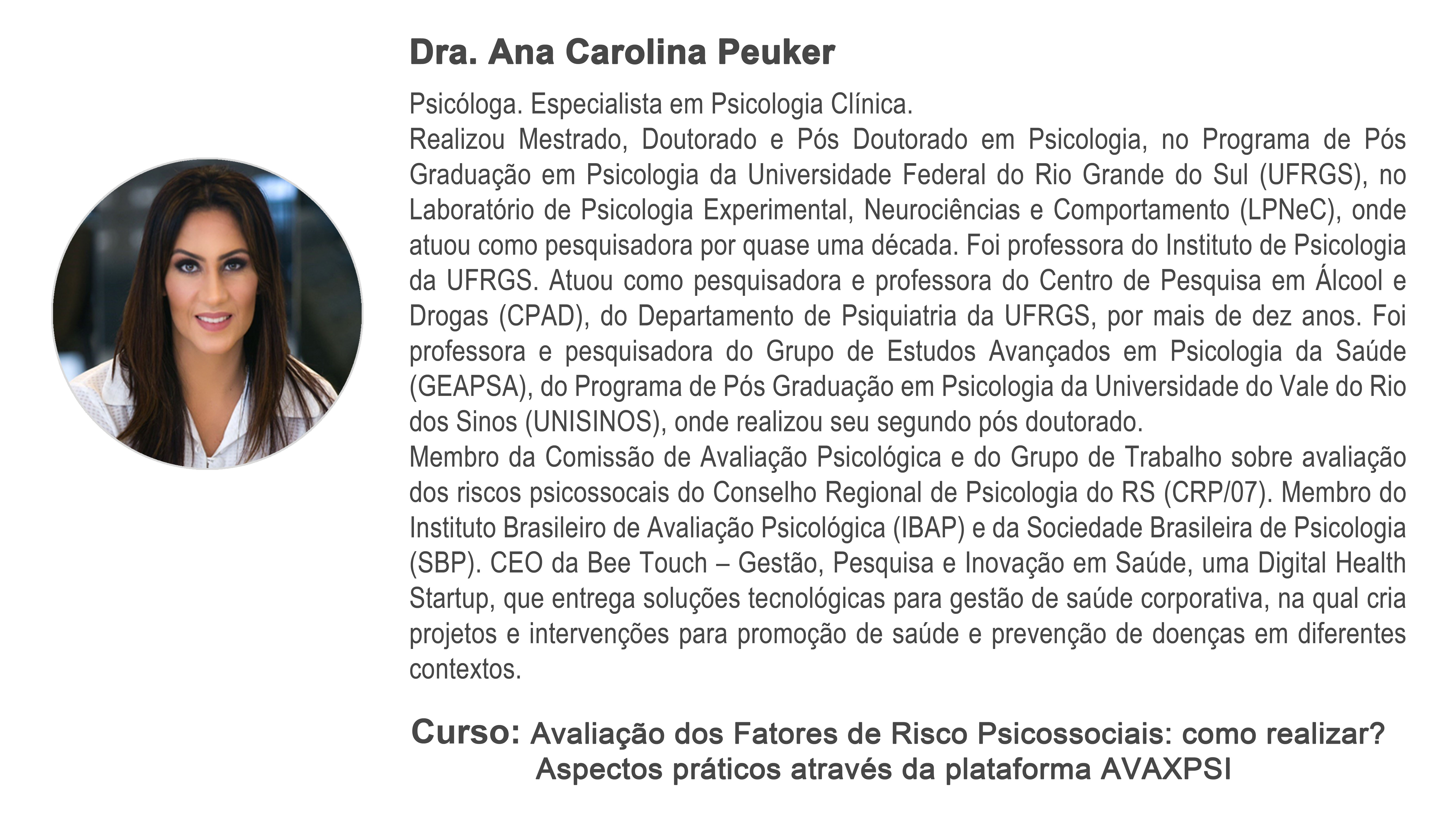 Curso Confirmado Ana Carolina…